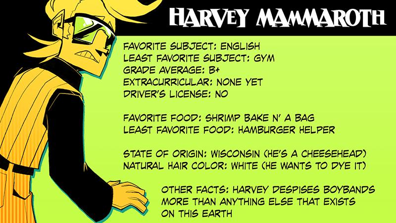 harvey bio