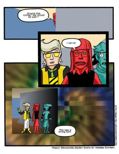 Secret Santa Comic